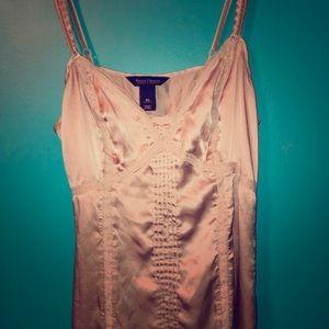 LAST CHANCE! TB DONATEDWHBM silk chemise top XS